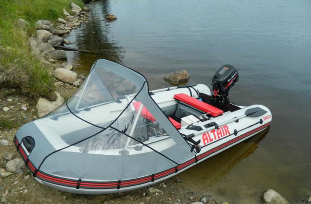 тент на лодку альтаир