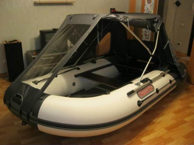 тент на лодку касатка