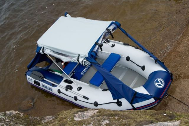 тент на лодка ямаран