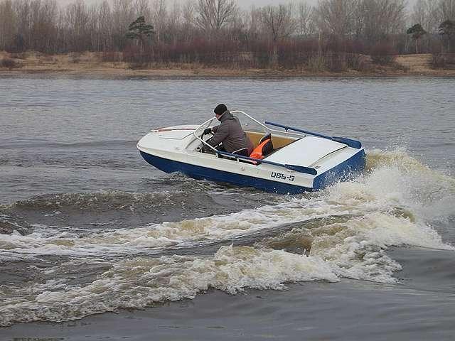 длинна лодки обь