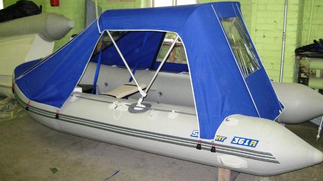 Тент для лодки пвх сделать