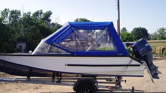 пошив тентов на катера из пвх