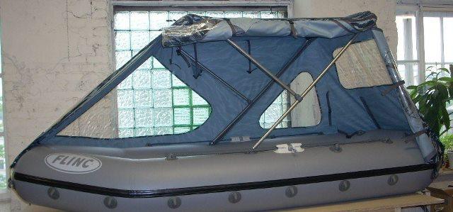 тенты для надувных лодок пвх своими руками