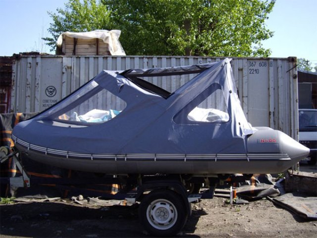 Тент для лодки пвх фото